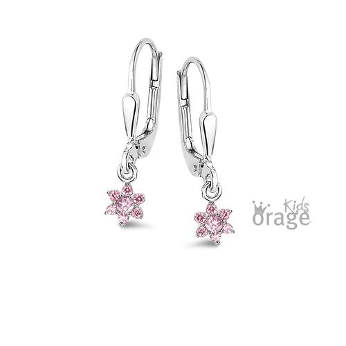 Oorhanger - Roze bloem