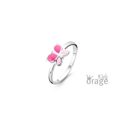 Ring - Roze vlinder