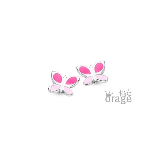 Oorsteker - Roze vlinder