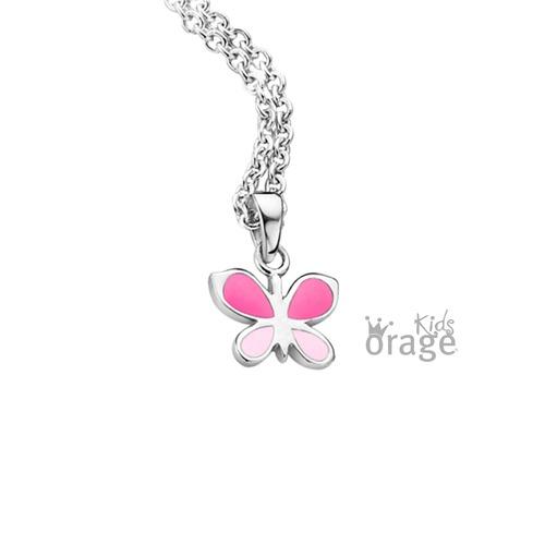 Hanger - Roze vlinder
