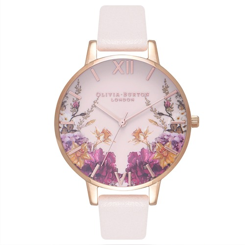 Enchanted Gardens Blossom & Rose Gold Watch